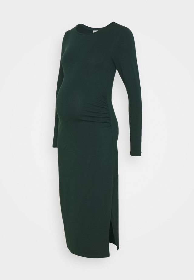 Sukienka z dżerseju - dark green