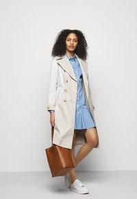 Lauren Ralph Lauren - DRESS - Shirt dress - blue/white - 1