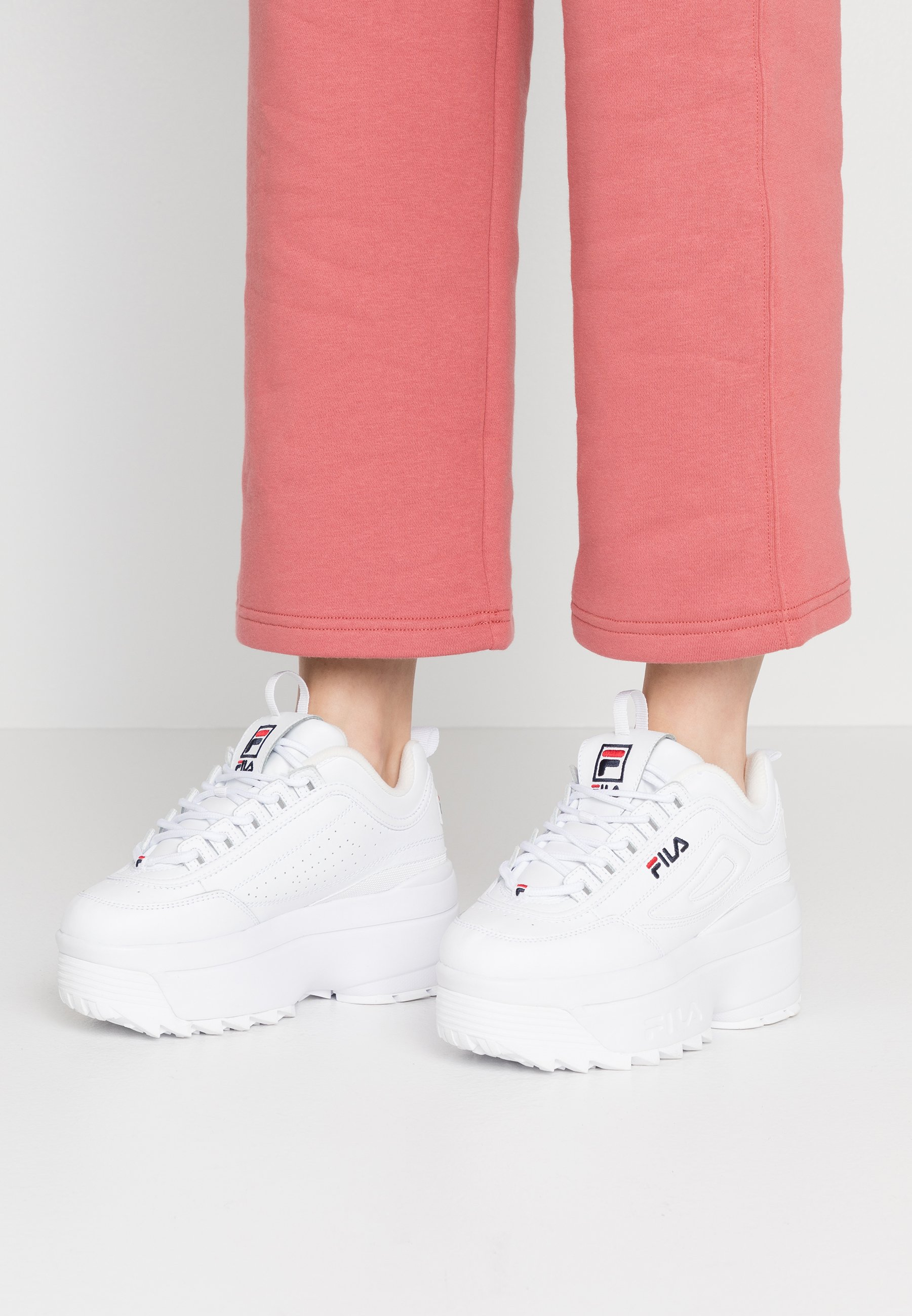 basket fila disruptor zapatillas