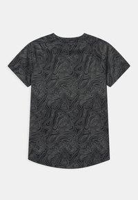Ellesse - DUGONI UNISEX - Camiseta estampada - black - 1