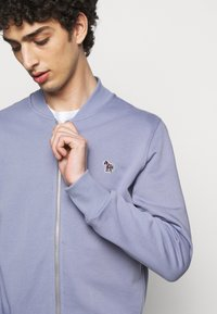 PS Paul Smith - MENS ZIP BOMBER - Sweat à capuche zippé - blue/grey - 3