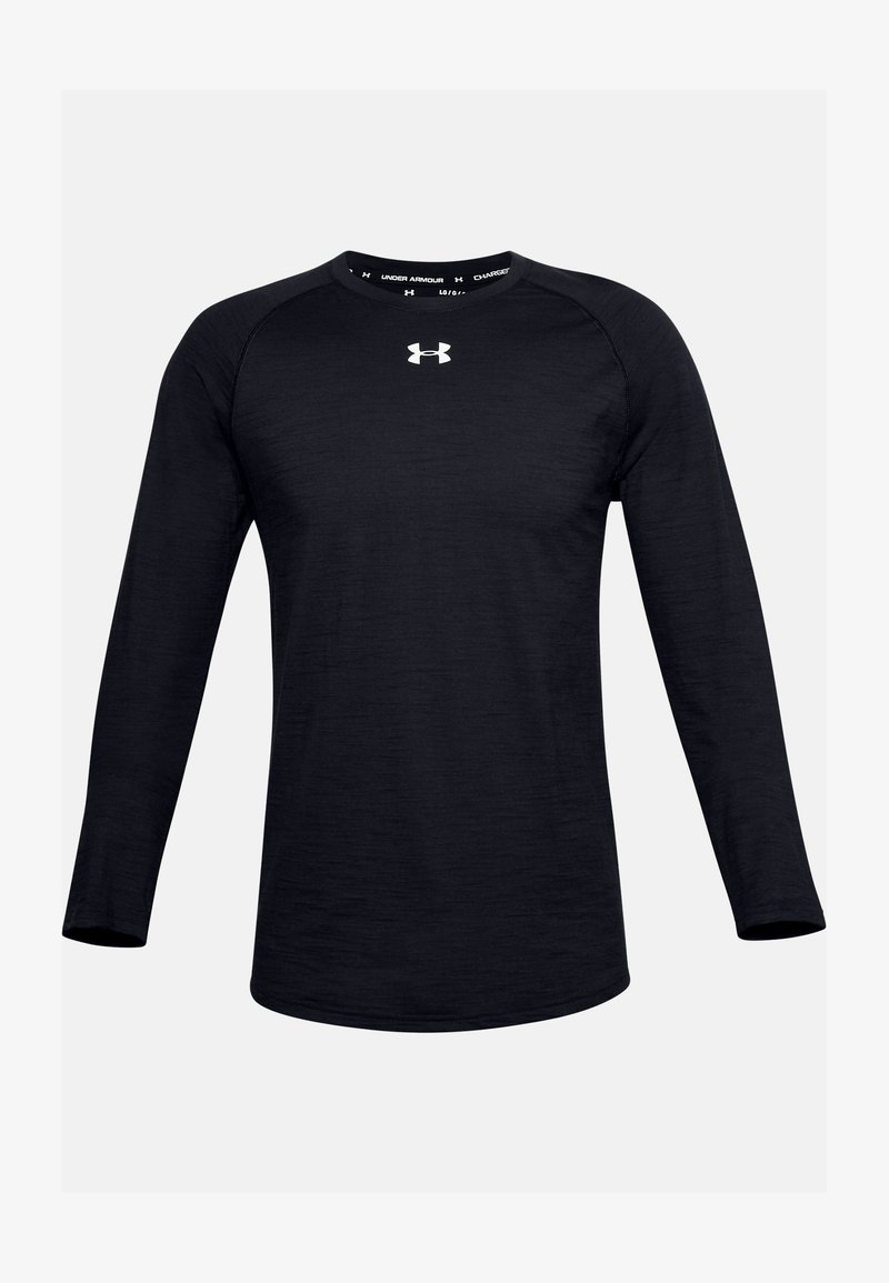Under Armour - CHARGED  - Long sleeved top - black