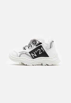 Sneakers laag - white/black