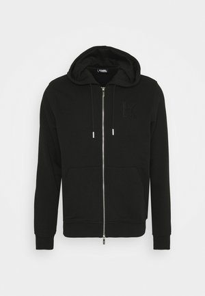 HOODY JACKET - Zip-up hoodie - black