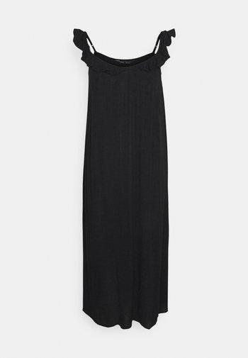FRILL DETAIL  - Day dress - black