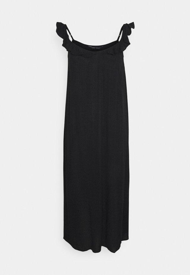 FRILL DETAIL  - Denní šaty - black