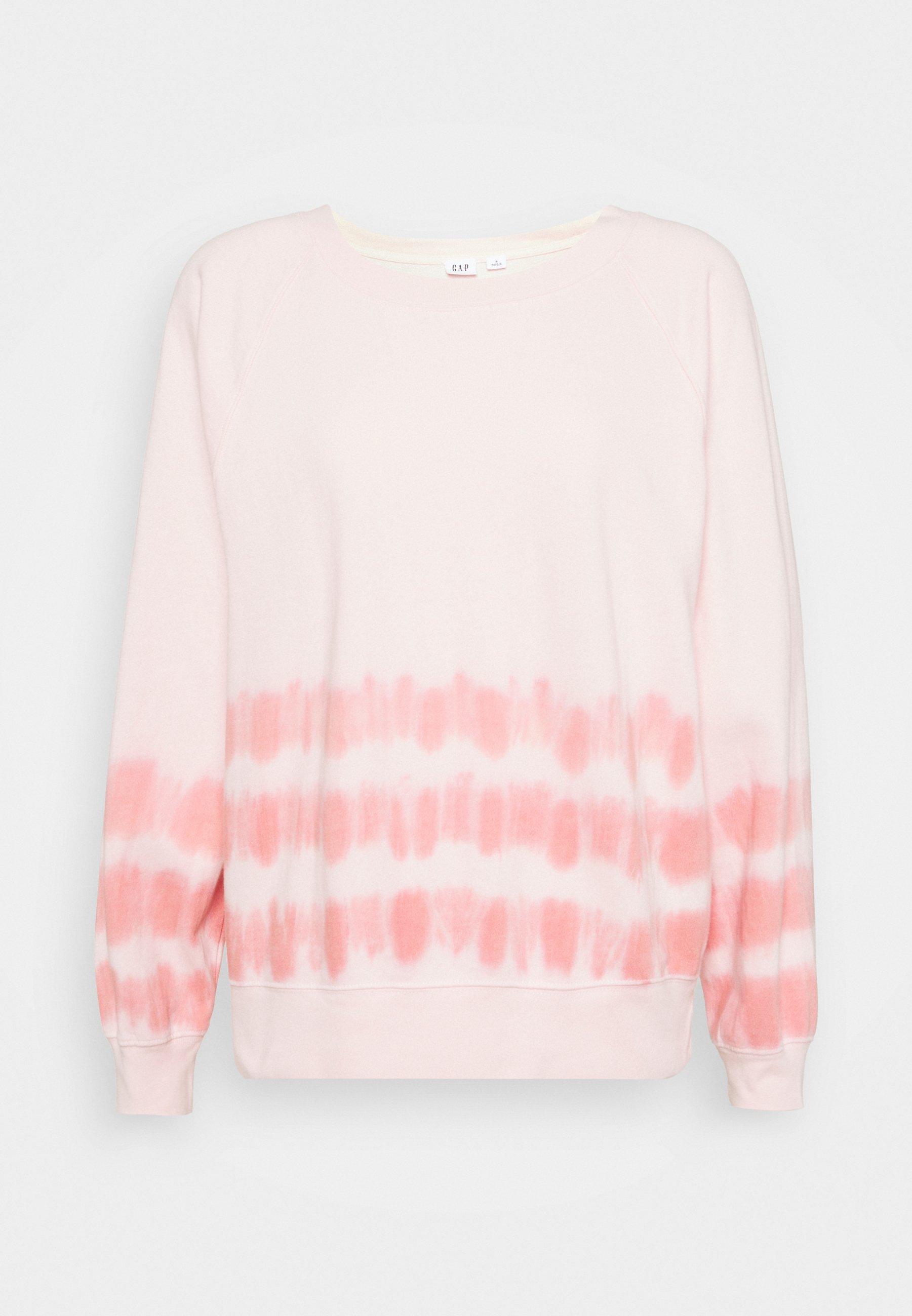 Women TIE DYE - Sweatshirt - pink