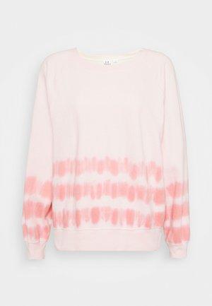 TIE DYE - Sweatshirt - pink