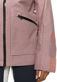 Helly Hansen - POWDERQUEEN 3.0 JACKET - Snowboard jacket - ash rose - 6