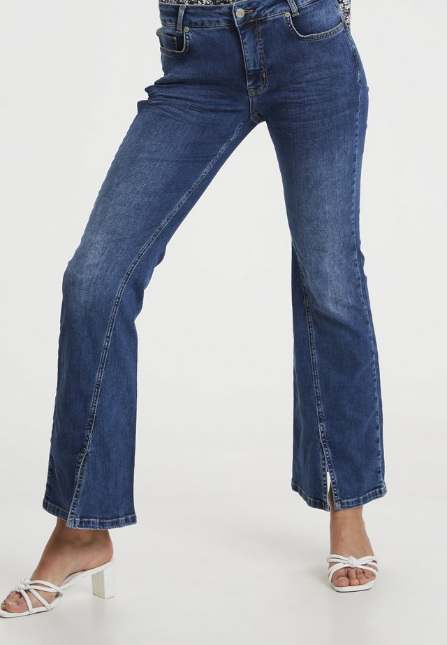 Jeans bootcut - medium blue wash