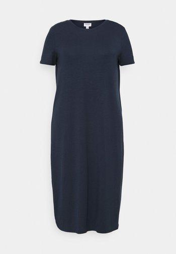 VMGAVA DRESS CURVE - Jersey dress - navy blazer