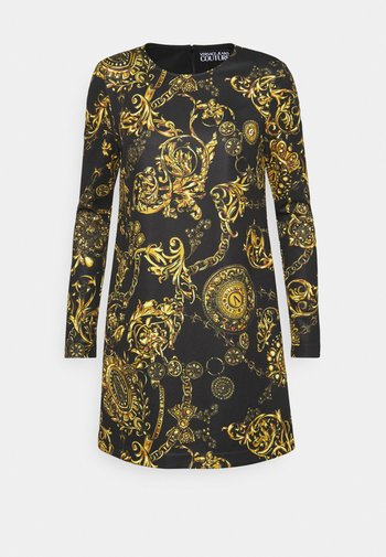 DRESS - Day dress - black/gold