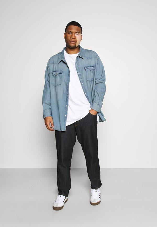 Levi's® Plus BIG BARSTOW WESTERN - Koszula - light-blue denim/jasnoniebieski Odzież Męska FSDD