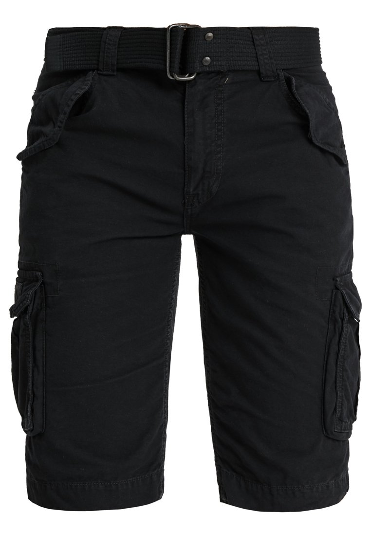 Schott BATTLE - Shorts - black