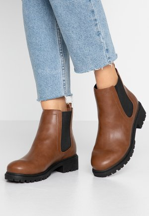 CHUNKY CHELSEA  - Ankle boots - brown