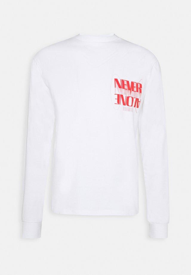 WINSTON TEE UNISEX - Camiseta estampada - white