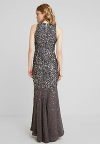 Maya Deluxe - KEYHOLE FRONT ALL OVER EMBELLISHED FISHTAILDRESS - Occasion wear - charcoal - 3