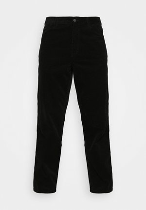SINGLE KNEE PANT COVENTRY - Pantalon classique - black rinsed