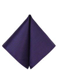 GASSANI - 3 SET - MORENO CRAVATTA  - Pocket square - schwarz  purpurviolett lila getupft - 3