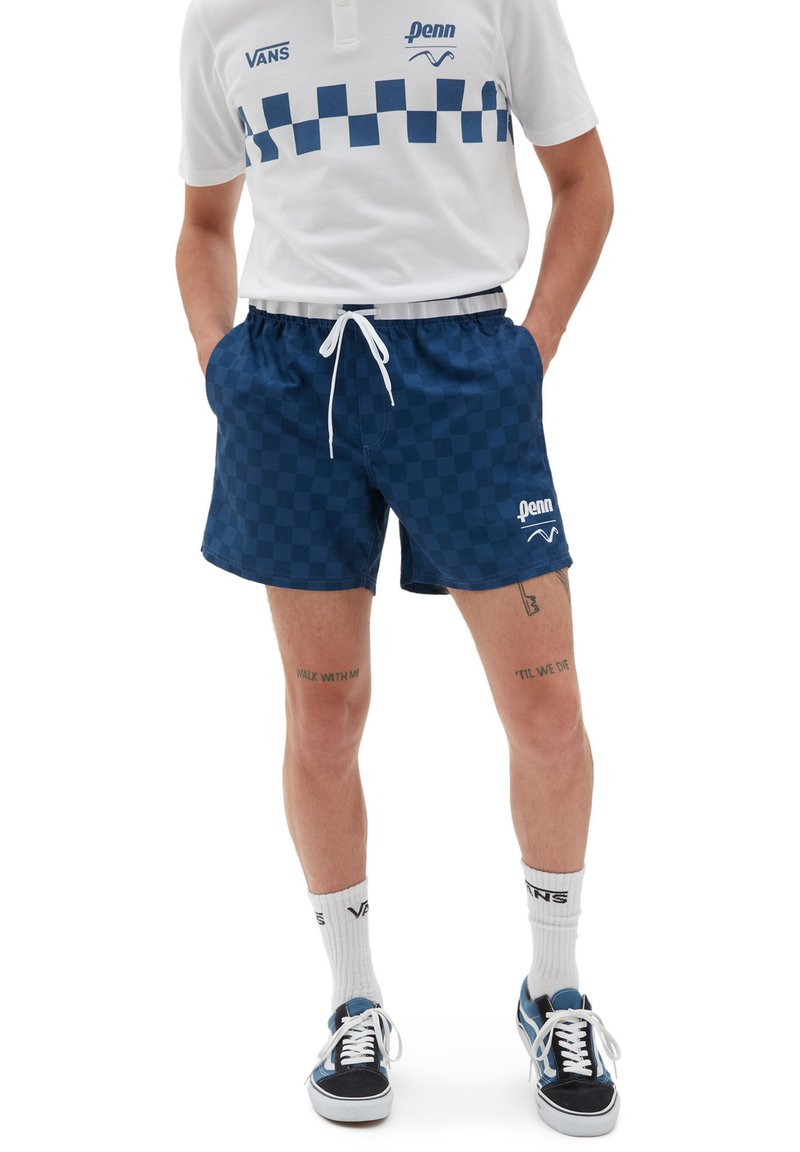 Vans - MN VANS X PENN VOLLEY SHORT - Shorts - (penn) true navy