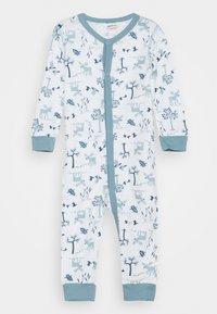 Joha - JUMPSUIT UNISEX - Pyjamas - light blue/offwhite - 0