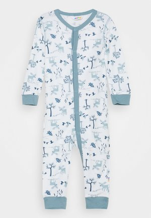 JUMPSUIT UNISEX - Pyžamo - light blue/offwhite
