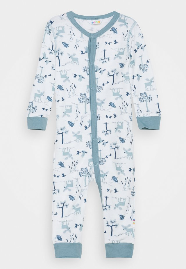 JUMPSUIT UNISEX - Pyjamas - light blue/offwhite