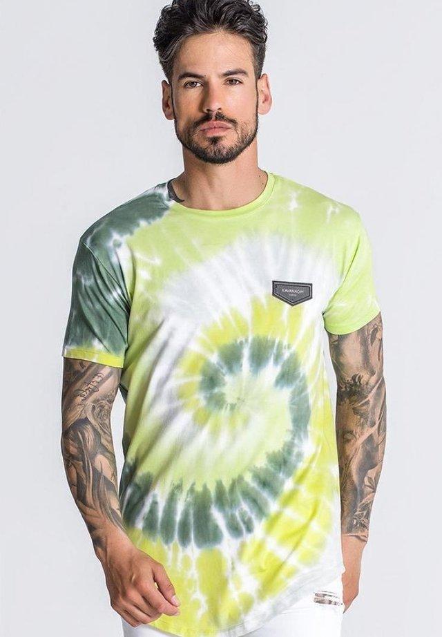 T-shirt print - neon yellow