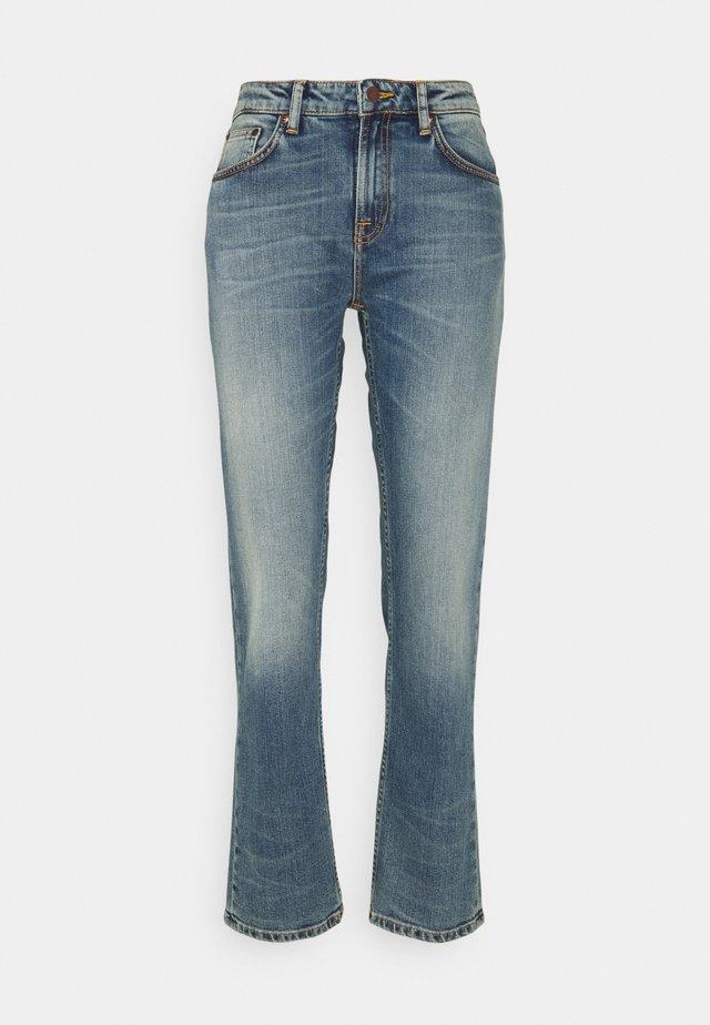 SALLY - Straight leg jeans - blue meadow