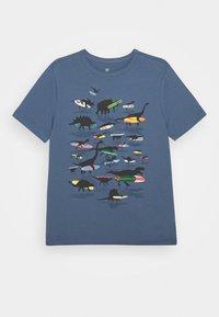 GAP - BOYS - Print T-shirt - bainbridge blue - 0