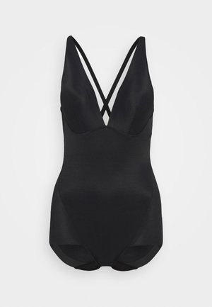 EASY GLIDE ON AND OFF LOW BACK COOL COMFORT - Swimsuit - black