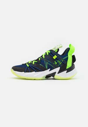 WHY NOT SE - Basketball shoes - black/key lime/blue void/summit white/white/barely volt