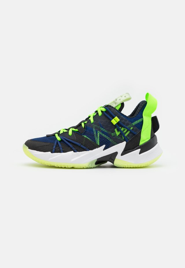 WHY NOT SE - Basketbalschoenen - black/key lime/blue void/summit white/white/barely volt