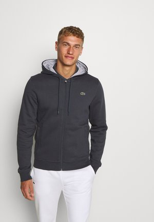 Zip-up hoodie - graphite/argent chine