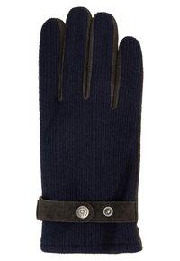 Bugatti - Gloves - navy/choco - 1