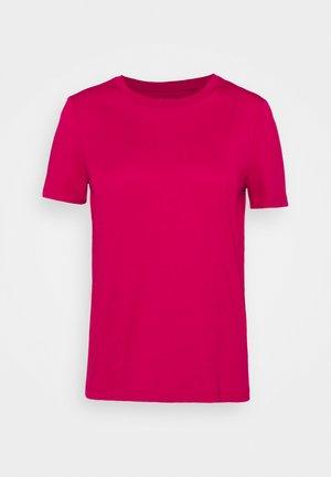CORE - Basic T-shirt - dark pink