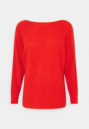 Jumper - rust orange