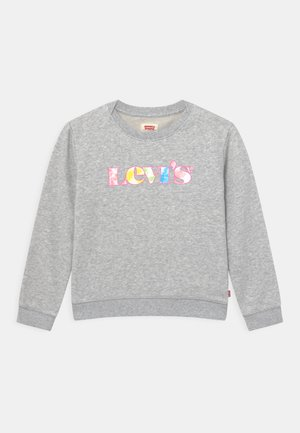 GRAPHIC CREW  - Sweatshirt - light gray heather