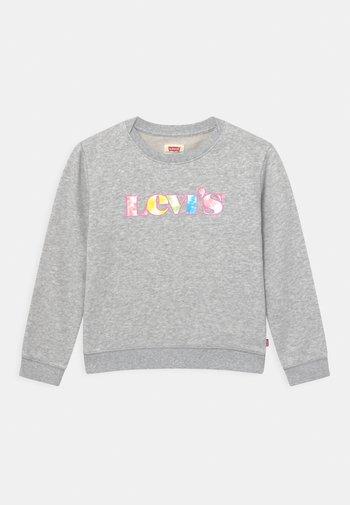 GRAPHIC CREW  - Sweatshirt - light gray heather