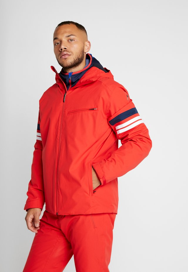 ALPINE JACKET  - Lyžařská bunda - red/white