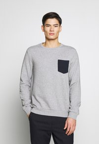 Pier One - Sweatshirt - grey - 0