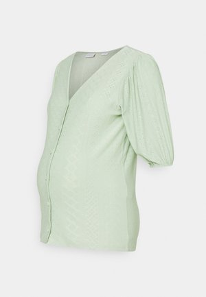 NURSING - Cardigan - cameo green