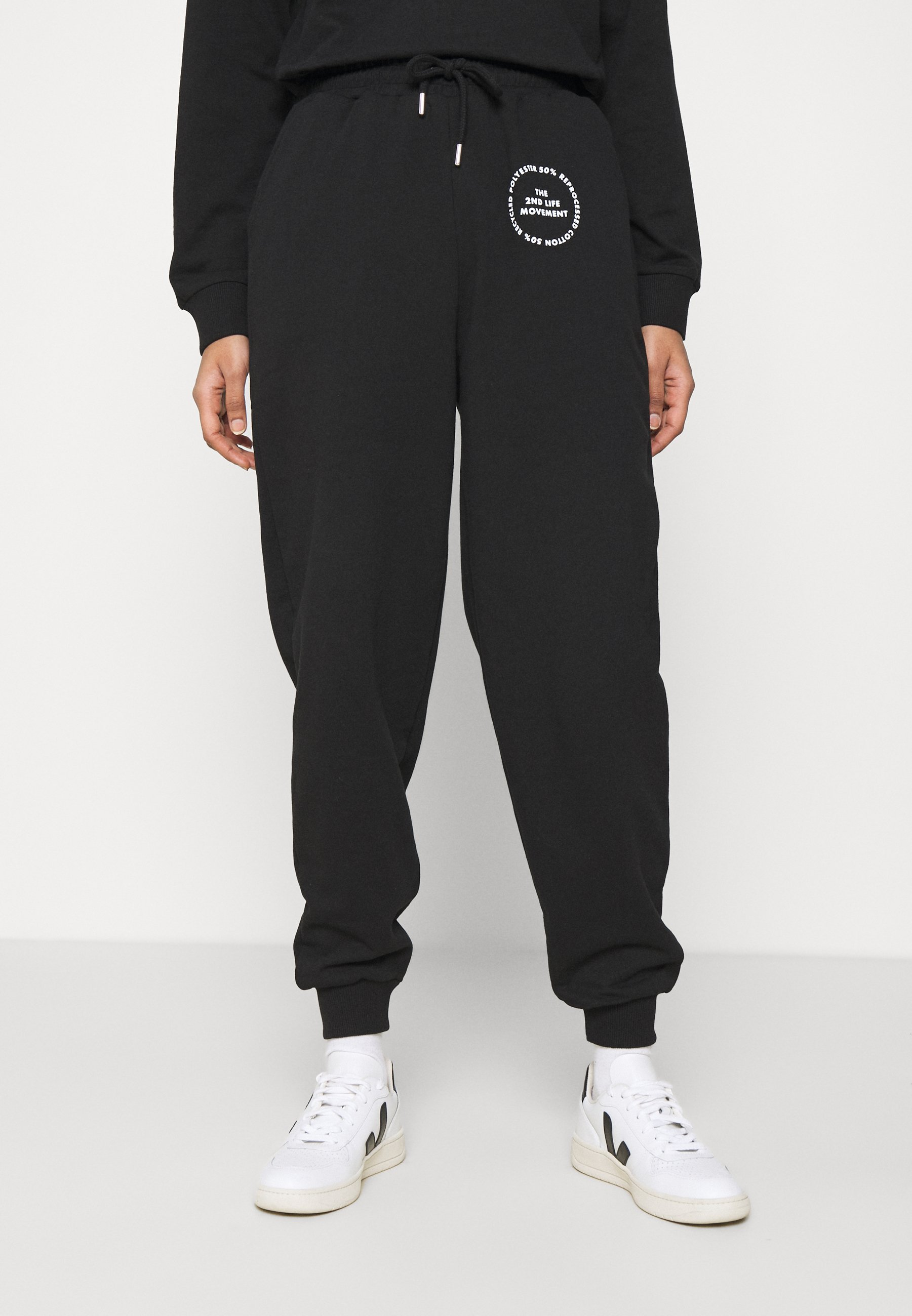 Women JOGGER WITH GRAPHIC - Tracksuit bottoms