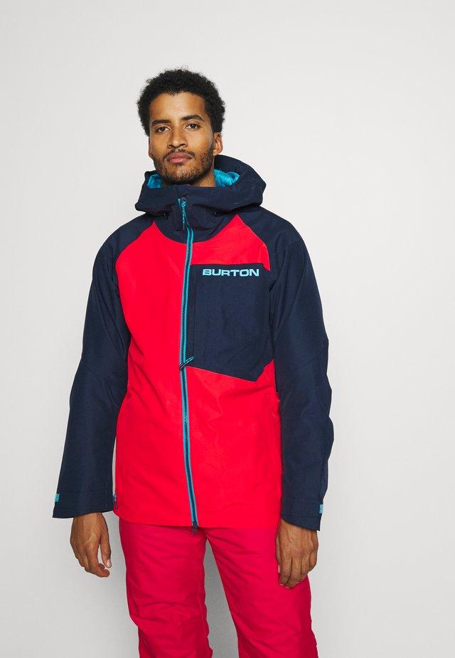 GORE RADIAL - Snowboardová bunda - blue