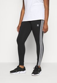 adidas Originals - TIGHT - Leggings - black/white - 0