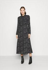 Mavi - PRINTED DRESS - Maxi-jurk - black - 0