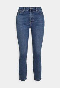 Topshop Petite - JAMIE - Jeans Skinny Fit - mid denim - 0