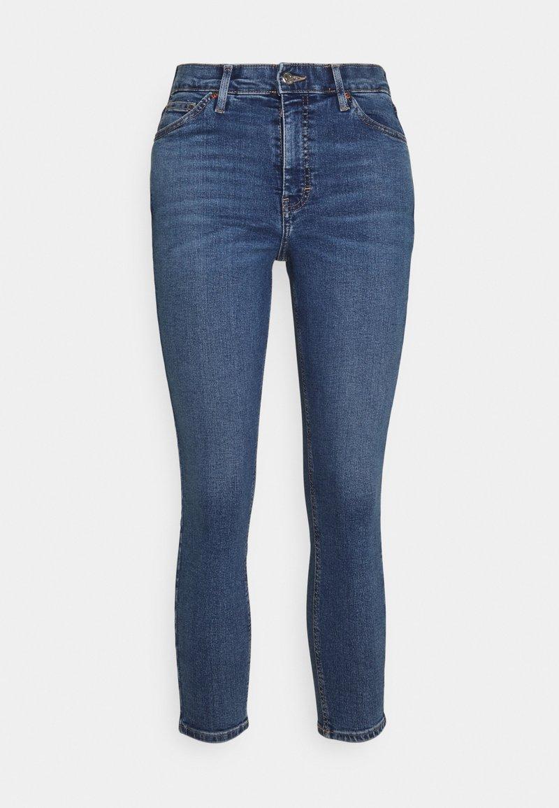 Topshop Petite - JAMIE - Jeans Skinny Fit - mid denim