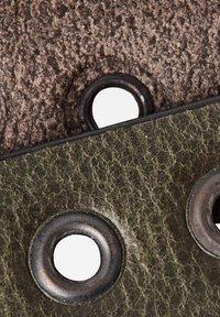 G-Star - KHOMA EYELET - Belt - dk algae/sterling/copper - 4