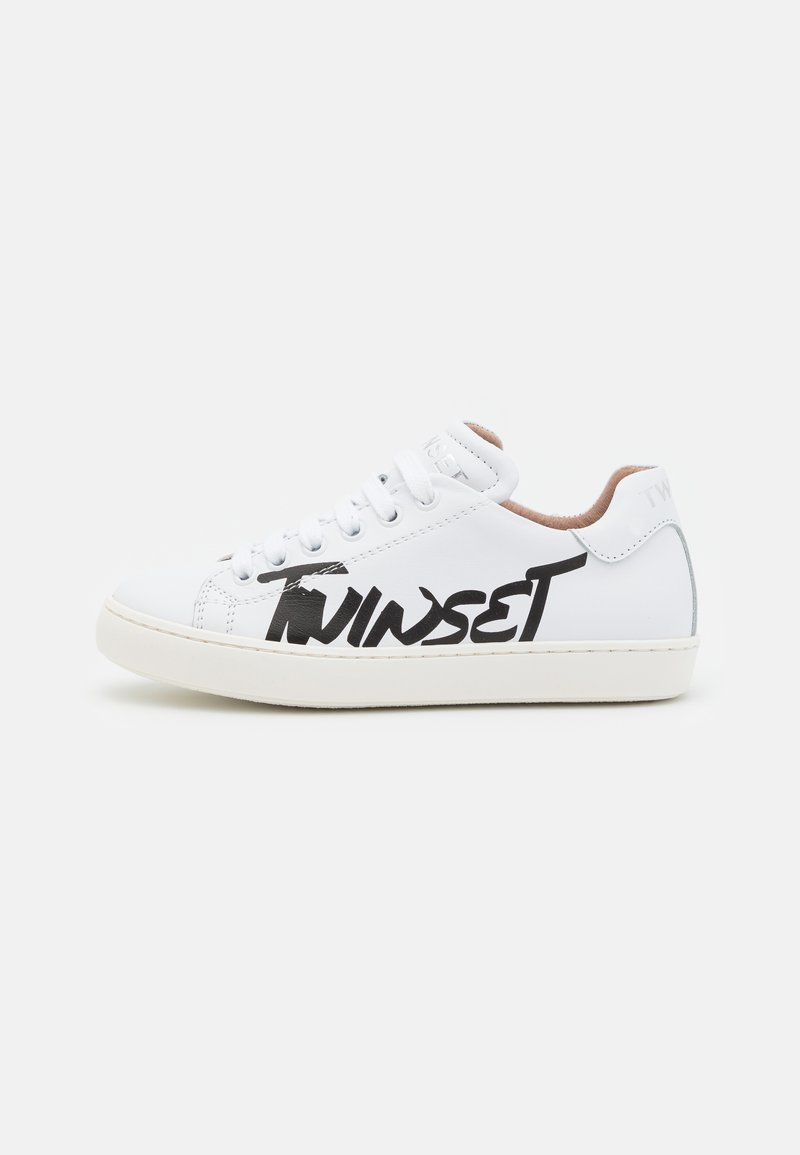 TWINSET - LOGO PRINTED - Trainers - offwhite